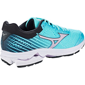 Mizuno Wave Rider 22 Sko Damer, angel blue/lavender frost/black